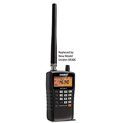 Uniden BC75XLT, 300-Channel Handheld Scanner, Emergency, Marine, Auto Racing, CB Radio, NOAA Weather, and More. Compact Design. (New Replacement Model, Replaced by Uniden SR30C Bearcat): Electronics