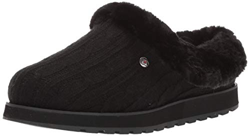 Lovely Keepsake - Skechers BOBS Women's Keepsakes Ice Angel Slipper, BBK, 6.5 M US