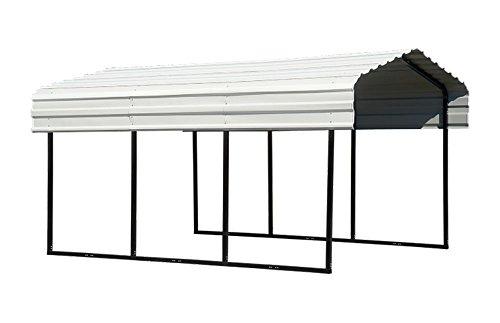 Arrow Backyard Outdoor Garage Shelter Carport 10'X29'X7' 9 CTNS by ShelterLogic