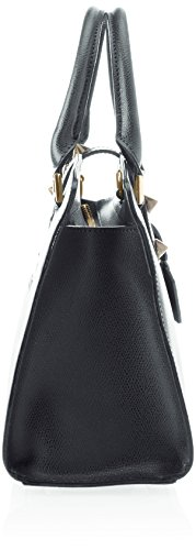 Chicca Borse 8844, Borsa a Spalla Donna, 28x22x12 cm (W x H x L) Grigio