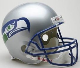 Seattle Seahawks 1983-2001 Throwback Riddell Deluxe Replica Helmet