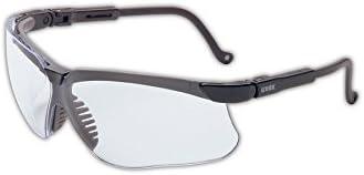 Honeywell S3200 Uvex Genesis Series Safety Glasses, Standard, Black