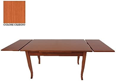 WEBMARKETPOINT Mesa de Madera Extensible Color Cerezo Patas a ...
