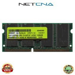 F1622A 128MB HP OmniBook Notebook PC66 SODIMM Memory 100% Compatible memory by NETCNA USA (128mb Sodimm Pc66 Memory)