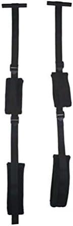 Healifty erwachsene paare lieben schaukel handschellen beinfesseln hängen tür schaukel sm spielzeug bondage fesseln für paare (schwarz)