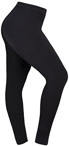 Lataly Women's Plus Size Leggings Summer Lightweight Breathable Yoga Legging Color Black Size 3XL Plus