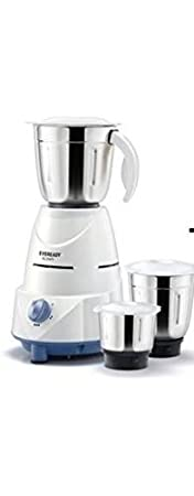 Eveready Mixer Grinder GLOWY - White and Blue Mixer Grinders at amazon