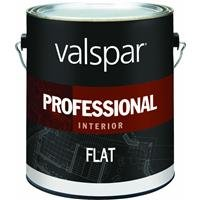 Valspar Paint 11600 Interior High Hide Latex Paint White Flat, 1 gallon by VALSPAR PAINT