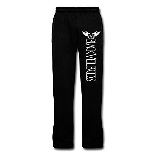 JeFF Men's Black Veil Brides Band Logo Cotton Sweatpants Running Pants Lounge Pajama Pants