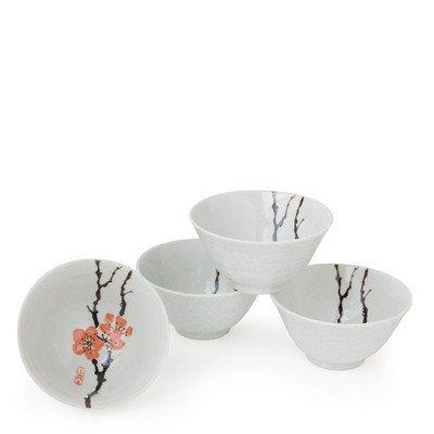 11 oz. Plum Bowl (Set of 4) by MIYA