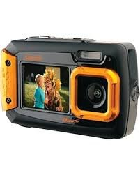 COLEMAN 2V9WP-O 20.0-Megapixel Duo2 Dual-Screen Waterproof D