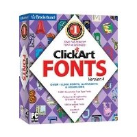 (Encore 2186276 ClickArt Fonts 400,000 PC Software )