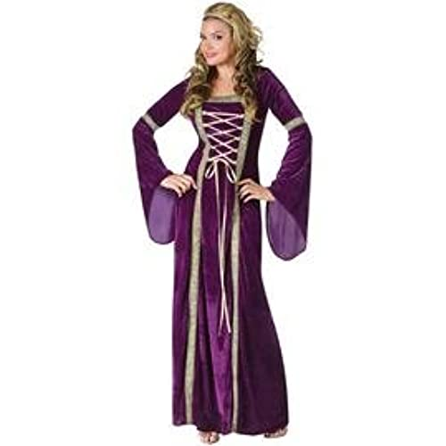 Medieval renaissance costumes amazon fun world womens deluxe renaissance lady purple mediumlarge 10 14 solutioingenieria Choice Image