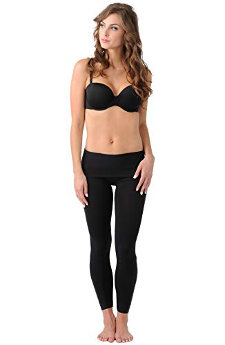 Belly Bandit - BDA Leggings for Before, During & After Pregnancy - Small, Black