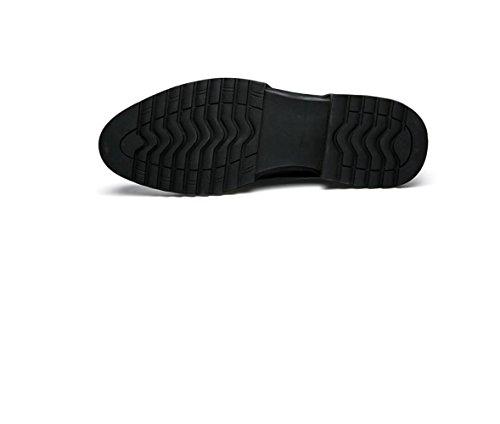 Arrondi Automne zmlsc Grey Printemps Business Bande Hiver Hommes Été Cuir Casual Pointu Chaussures Sports Couleur Doux YPYFqA