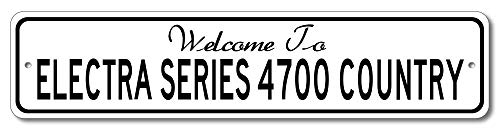 Buick Electra Series 4700 - Welcome to Car Country Sign - Aluminum 4