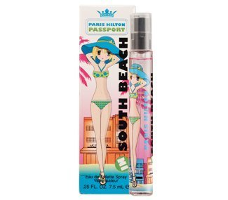 PASSPORT IN SOUTH BEACH For Women 0.25 oz EDT Pencil Spray By PARIS HILTON