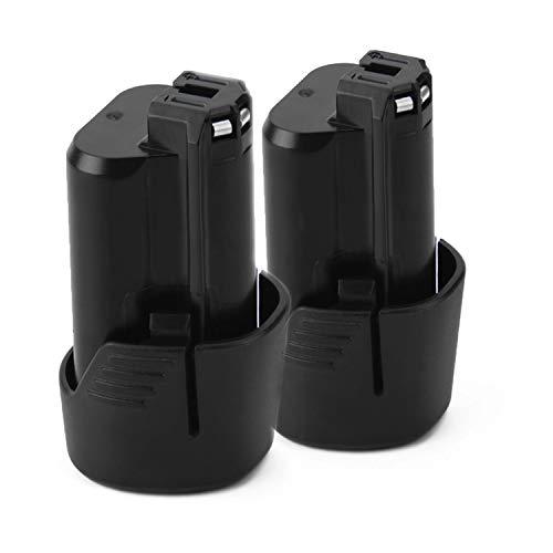 Creabest New 2 Packs 10.8V 3.0Ah Li-ion Replacement Battery Compatible with Bosch BAT411 BAT411A BAT412 BAT412A BAT413 BAT413A BAT414 D-70745 2607336013 26073360 Li-ion Replacement Battery pack