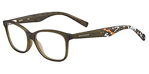 Hugo Boss Orange Rx Eyeglasses - 0216 0F4S - Olive (52/15/140) (Sonnenbrille Trendy)