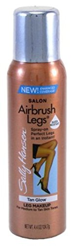 (Sally Hansen Airbrush Legs Tan Glow 4.4 Ounce (130ml) (3 Pack))