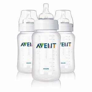 Avent Feeding Bottle with Variable Flow Nipple 11 Oz 3 Ct (Pack of 2)