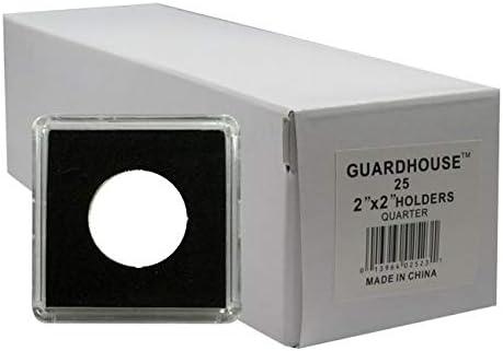 Holds 50 Plastic 2x2 Tetra Snaplocks Guardhouse Double Row Tetra Snaplock Box