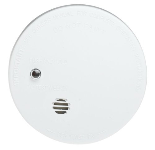 Kidde i9040 Fire Sentry Battery-Operated Ionization Sensor Compact Smoke Alarm 6 Pack