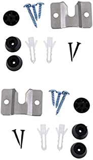 Bulk 2 Dartboard Mount Hardware Kit Bracket and Screws for Wall/Cabinet Hanging Dart Board - Professional &