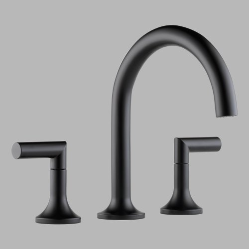 ub Faucet Trim from the Odin Collection, Matte Black ()