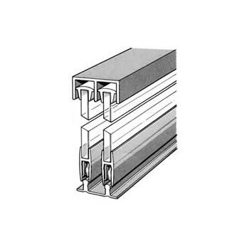 1 4 x 4 39 aluminum sliding door track home for 1 4 inch sliding door track
