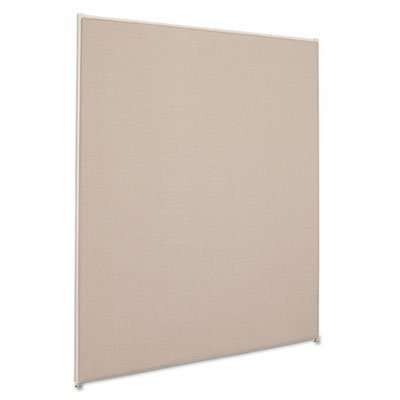 Vers? Office Panel, 48w x 60h, Gray, Sold as 1 Each by Basyx