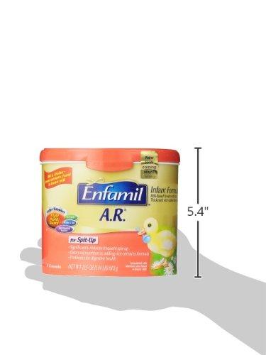 Enfamil  A.R. Baby Formula - 21.5 oz Powder in Reusable Tub