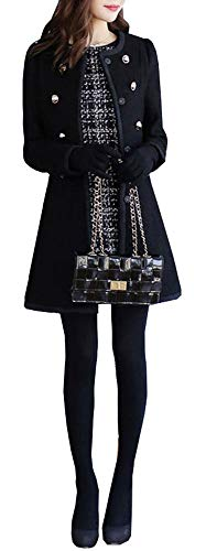 Eu 5 Femme Xx Manteau All Noir small Étiquette Longues Manches Small nB8BrwfHx