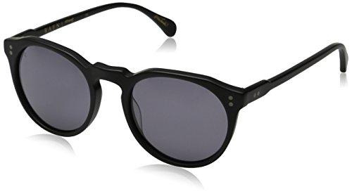 Raen Remmy 49 Round Sunglasses, Matte Black, 49 - Remmy Sunglasses Raen