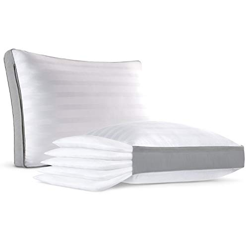 Restorology Comfort Stack Pillow - Adjustable 5 Layer Pillow - Add and Remove Layers to Customize Your Pillow Height - Ultra Plush and Hypoallergenic - Queen