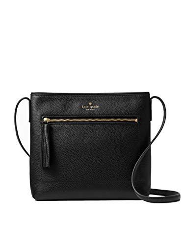 Kate Spade New York Chester Street Dessi Pebbled Leather Shoulder/Crossbody Bag (Black) (Best Medium Sized Crossbody Bag)