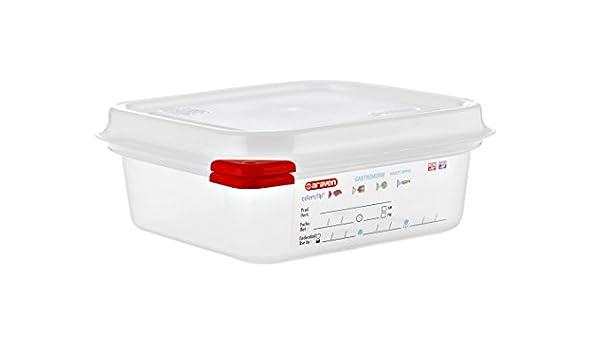 Araven GN PP - contenedor hermético 1.1L (6 unidades ...