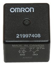 ACDelco 15-81106 GM Original Equipment Black Multi-Purpose Relay (Sport Relay Ac)
