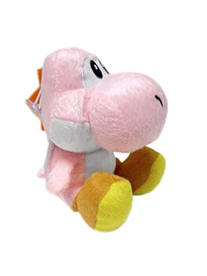 Super Mario Brothers Yoshi Pink Ver 6 Plush from Banpresto