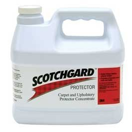 Fabric Scotchgard 3m (3M Scotchgard Carpet and Upholstery Protector - Concentrate - 1 Gallon 8090)