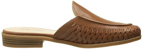 Mule Dark West Nine Leather Juanita Natural Women's xq1IIAwH