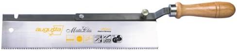 Augusta Umlegbare Feinsäge 250 mm für Gehrungsschnitte in Stabhölzer und Leisten, 2137 250 AMA