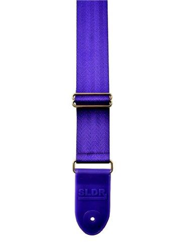 Souldier SLD-SLPUR SLDR Locking Guitar Strap, Purple