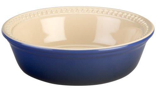 Le Creuset Stoneware 4-Inch 8-Ounce Petite Pie Dish, Cobalt