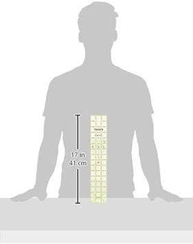 Omnigrip by Omnigrid Non-Slip Ruler 5 Square