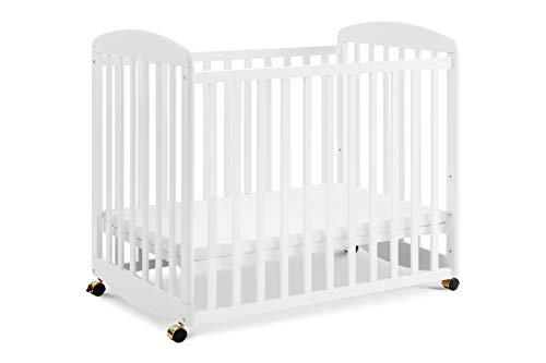 (DaVinci Alpha Mini Rocking Crib - White)