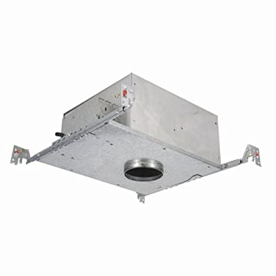 WAC Lighting HR-2LED-H09-HICA 2-Inch New Construction Housing IC Airtight Trim, Stainless Steel Finish