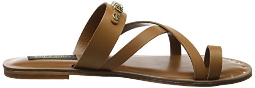 Juicy Couture Princley Charm Toe Sandal - Romana Mujer Marrón (Cognac)