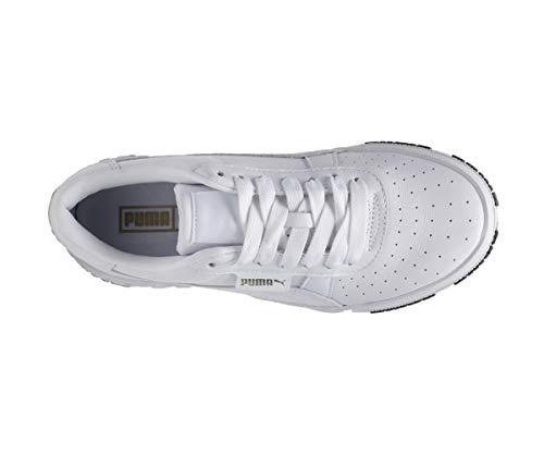 Puma Damen Cali Bold WN's' Sneaker, White-Metallic Gold 01, 38 EU 4