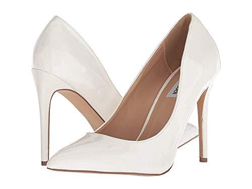 Steve Madden Women's Olena White Patent 8.5 M US